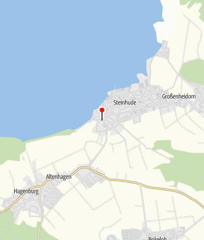 Karte / Tourist-Information Steinhude