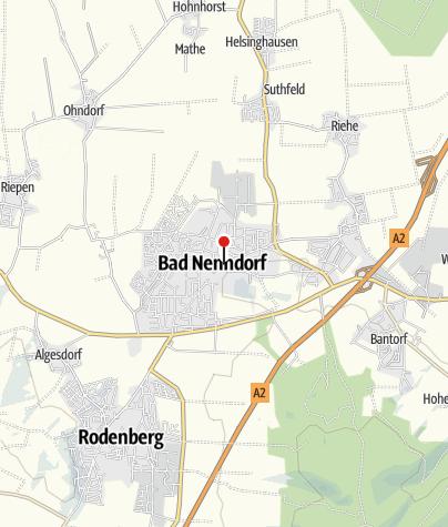Karte / Sparkasse Schaumburg Geschäftsstelle Bad Nenndorf