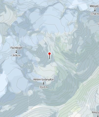 Kaart / Vernagthütte