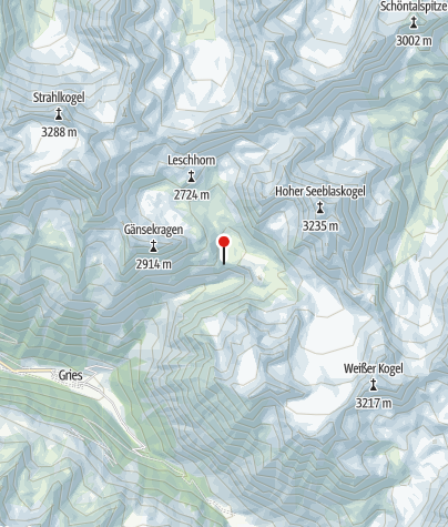 Kaart / Winnebachseehütte