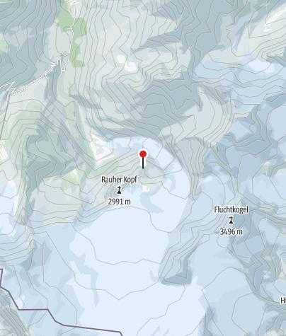 Kaart / Rauhekopfhütte