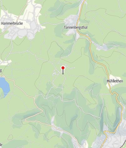 """Karte / Topasfelsen """"Schneckenstein"""""""