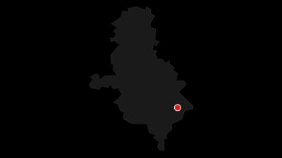 """Map / Topasfelsen """"Schneckenstein"""""""