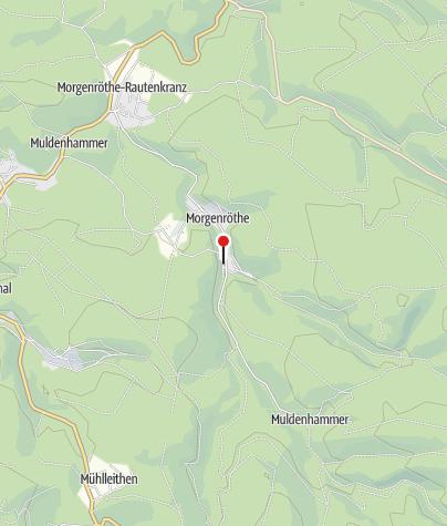 Karte / Hochofen der ehemaligen Glockengießerei in Morgenröthe