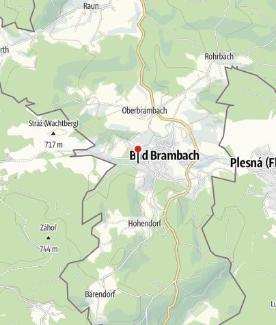 Map / Kur- & Fremdenverkehrsverein Bad Brambach