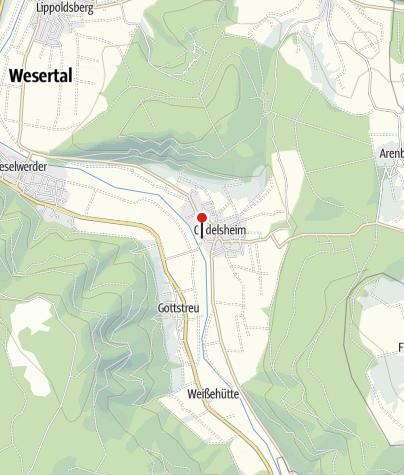 Karte / Schiffsanlegestelle Oedelsheim