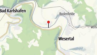 Karte / Schiffsanlegestelle Wahmbeck