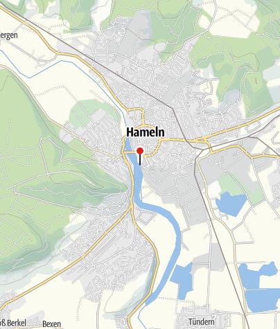 Karte / Schiffsanlegestelle Hameln