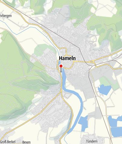 Karte / Schleuse Hameln