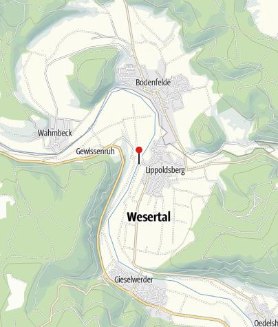 Karte / Schiffsanlegestelle Wahlsburg