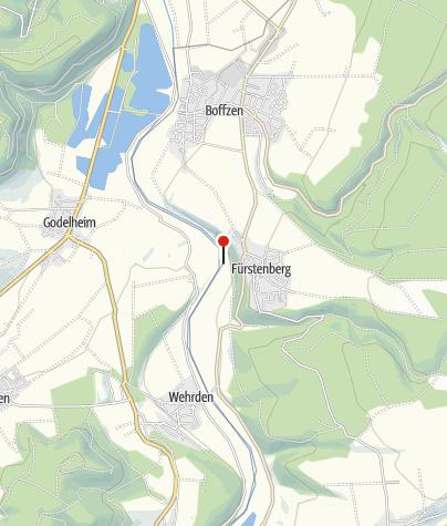 Karte / Schiffsanleger Fürstenberg