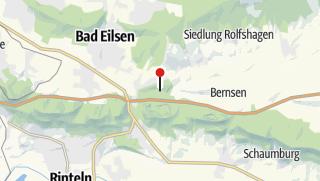 Karte / Arensburger Papiermühle