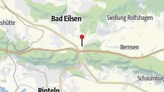 Karte / Blank- und Eisenhammer Buchholz