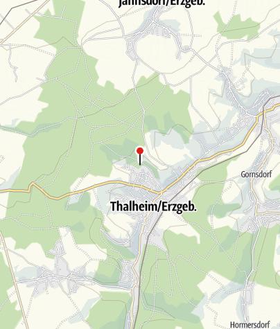 Karte / Waldcamping - Erzgebirgsbad