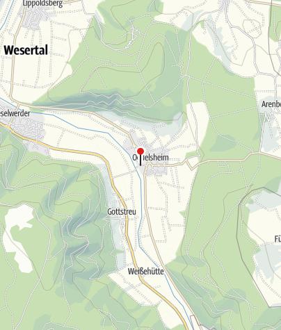 Karte / Gierseilfähre Oedelsheim-Gottstreu