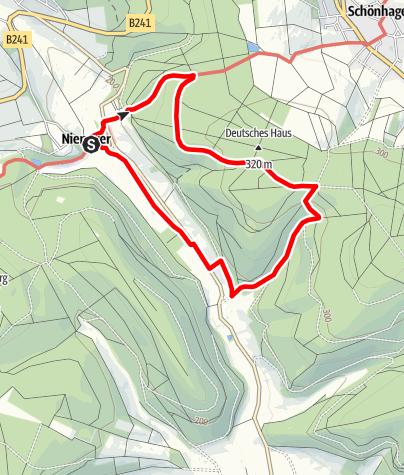 Karte / Unterm Wietborn (Po 13)