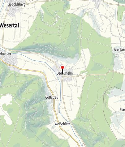 Karte / Martinskirche Oedelsheim