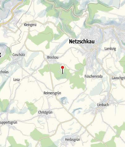 Karte / Kuhbergturm Brockau/ Netzschkau