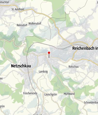 Karte / Stadtkirche Mylau