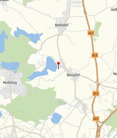 Karte / Lößnitzgrundbahn Haltepunkt Bärnsdorf