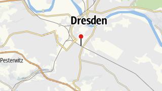 Karte / Bahnhof Dresden Hbf