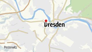Karte / Bahnhof Dresden Mitte
