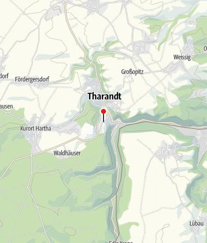 Karte / Forstbotanischer Garten Tharandt - Sächsisches Landesaboretum
