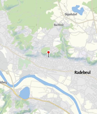 Karte / Besenschänke Haselbusch unterhalb der Friedensburg