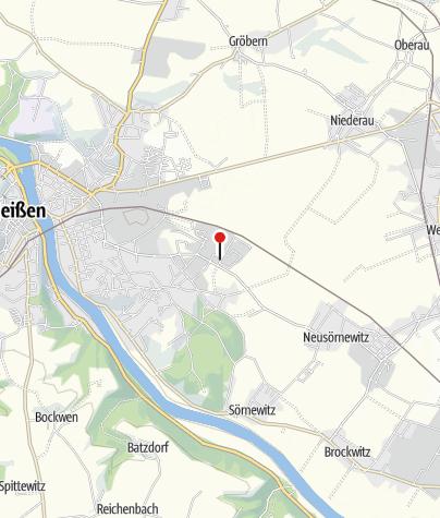 Karte / Schwerter Brauerei Meißen