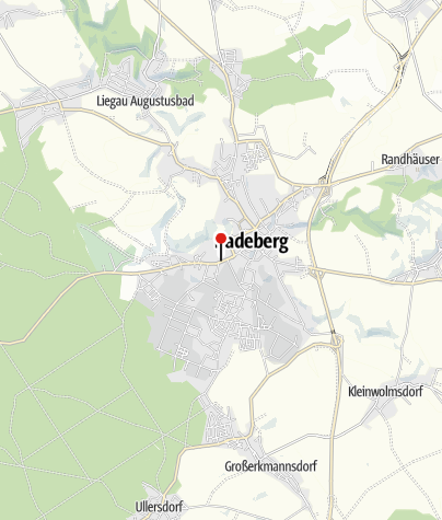Karte / Radeberger Exportbierbrauerei