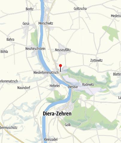 Karte / Schlosskirche Seußlitz - George-Bähr Kirche