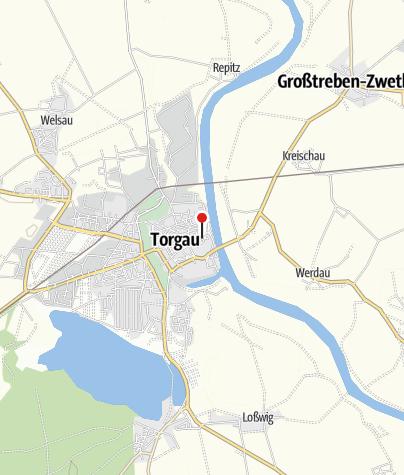 Karte / Stadt- und Kulturgeschichtliches Museum Torgau