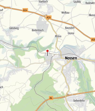 Karte / Klosterpark Altzella  - Das Erbe der Zisterzienser