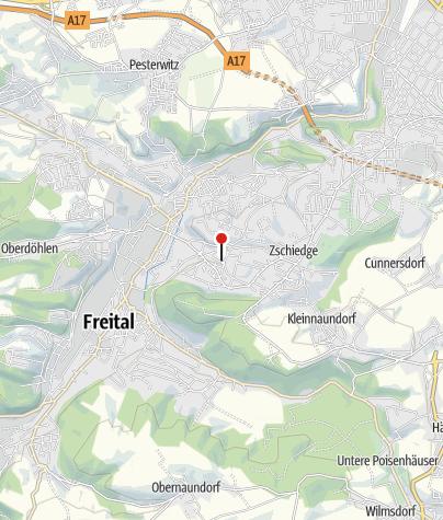 Karte / Schloss Burgk