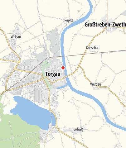 Karte / Schloss Hartenfels Torgau