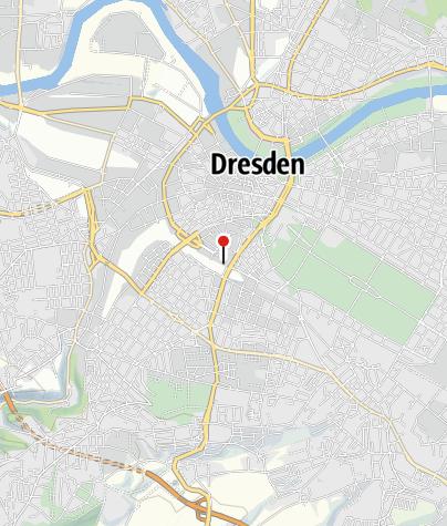 Karte / Dresden Information im Hauptbahnhof