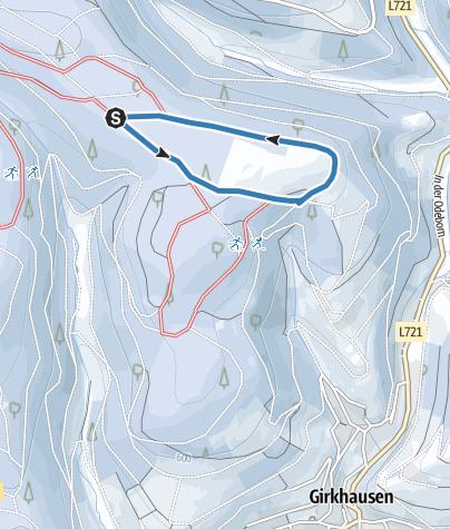 Map / Beginners' trail