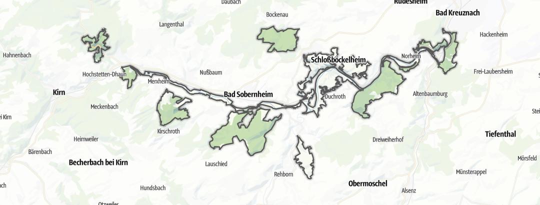 Map / Nahetal zwischen Simmertal und Bad Kreuznach
