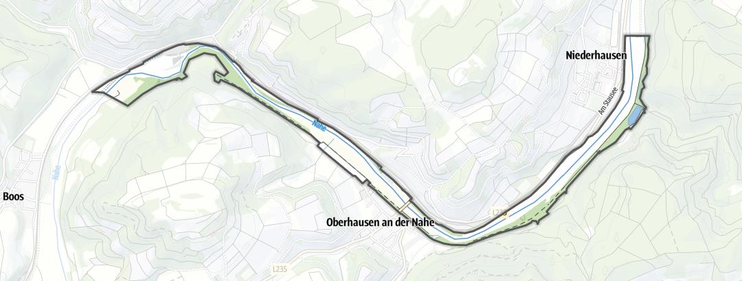 Map / Nahetal von Boos bis Niederhausen