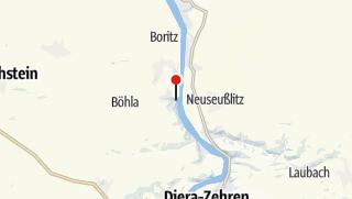 Karte / Schloss Hirschstein