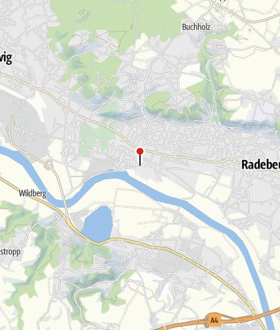 Karte / Altkötzschenbroda Dorfanger