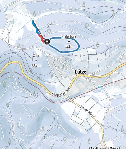 Map / Hilchenbach Lützel yellow trail