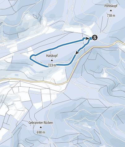 Map / Heiskopf cross-country trail