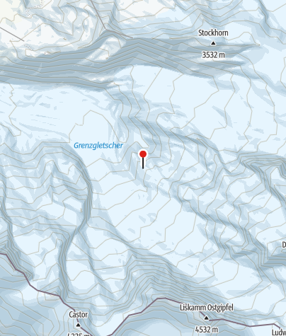 Kaart / SAC-Hütte Monte Rosa