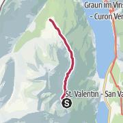 Map / Von der Haider Alm nach Schöneben