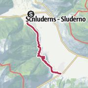 Map / Von Glurns nach Prad