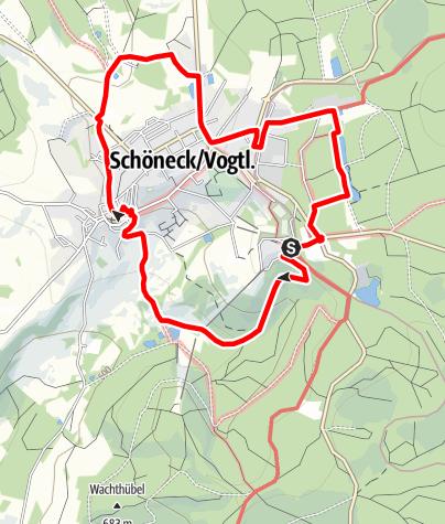 Karte / Schönecker Fernsichten